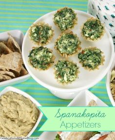 Spanakopita Appetizer Cups