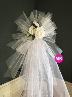 Tulle Wedding Decorations, Bachelorette Party Decorations, Wedding Wreaths, Wedding Staircase Decoration, Wedding Pews, Wedding Doors, Wedding Dresses, Bridal Shower Wreaths, Bridal Showers