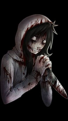 I know he isn't a chibi, but he is still: Jeff The Killer ^-^