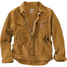 Sportsman's Guide has your Carhartt Berwick Sandstone Work Jacket available at a great price in our Insulated Jackets & Coats collection Rugged Style, Work Jackets, Line Jackets, Jackets For Men, Carhartt Jacket, Carhartt Workwear, Revival Clothing, Fashion Night, Outdoor Outfit
