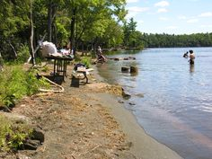 I confess a certain fondness for trails where, after a sweaty slog on a sweltering summer day, swimming is an option. Murphys Point Provincial Park, near Perth, is one of those. Hiking Routes, Hiking Trails, Ottawa, Perth, Summer Days, Ontario, Swimming, Swim, Walking Paths