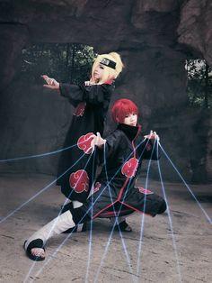Naruto - Deidara and Sasori