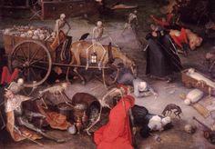 Breughel, Jan, Elder (b,1568)- Triumph of Death, 1597