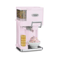 Parlor Center Ice Cream Maker   dotandbo.com