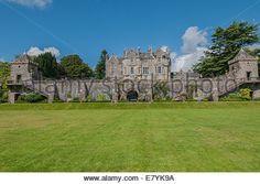 Torosay Castle & Gardens nr Craignure Isle of Mull Argyll & Bute Scotland - Stock Image