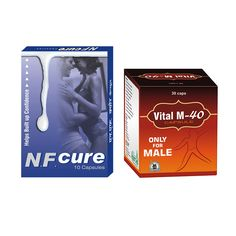 Take #NFCure capsules with #VitalM40 capsules to effectively eradicate #nightfall problem in #men naturally. It also helps in strengthening weak #reproductiveorgans of men.