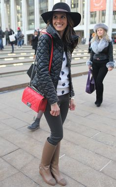 Rachel Parcell from New York Fashion Week Fall 2014 Street Style   E! Online