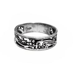Vintage Sterling Silver Ring / Band