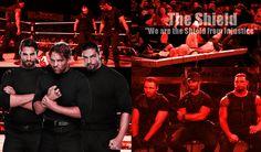 the shield wwe photos | WWE The Shield Wallpaper by ~xFadexToxNeonx3 on deviantART
