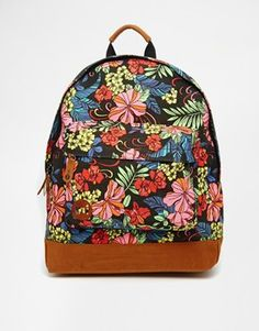 Mi-Pac Backpack in Tropical Floral Print Festival Looks b3dce95e39e98