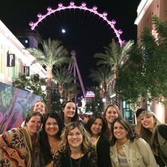 At The Linq in Vegas #leadingandlovingit #retreat. Photo taken by @divinashelley on Instagram.