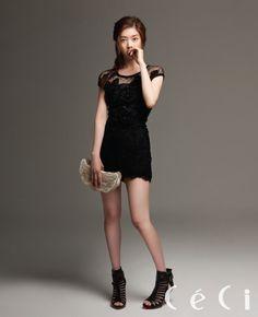 Jung So-min // CeCi Korea // July 2012