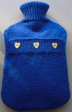 knitted hot water bottle cover tutorial - Szukaj w Google