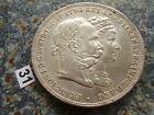 Osterreich Silber Doppelgulden 1879 2 Gulden Silberhochzeit Kaiser