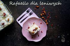 Kulinarne przygody Gatity: Ciasto rafaello dla leniwych