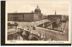 440. Germany, Berlin - Schloss und Schlossbrucke - Lichtdruck Extra I.W.B. No.83