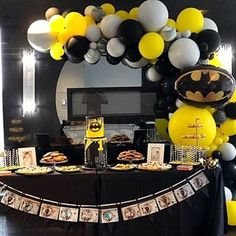 You don't need to have Super Powers to be a Super Hero! Cutest little JF's First Birthday 🖤. Balloon Arch, Balloons, Super Powers, First Birthdays, Superhero, Halloween, Colors, Cute, Instagram