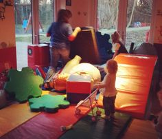 Setting up the play area! #littlemiracles #playstation #charity #instagram #instalike #colour #fun #play