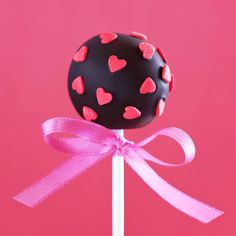 Cake pop valentijn