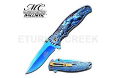 MC MASTERS COLLECTION MC-A019BL SPRING ASSISTED KNIFE