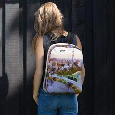 Park Güell backpack Parc Guell, Antoni Gaudi, Designer Backpacks, Love Design, Fashion Backpack, Barcelona, Park, Search, How To Wear