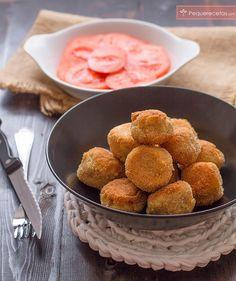 Las croquetas de queso y atún son perfectas como aperitivo o como cena. Con esta receta paso a paso, las croquetas de queso y atún os saldrán buenísimas.