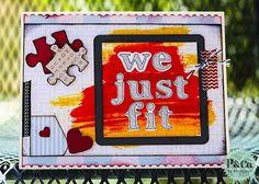 HYBRID Card--We Just Fit   by SandyHenderson