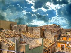 The town of Comiso-Sicily  http://www.flickr.com/photos/sergiolanna/2494253353/