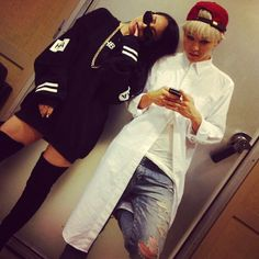 CL and GD (Gdragon)