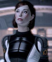 My custom Mass Effect 2 female Shepard (Femshep) by dinglouisa