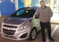 EVAN's new 2010 CHEVROLET SPARK! Congratulations and best wishes from Orr Chevrolet and WESTON FROST.
