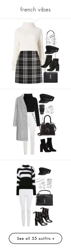 """""""french vibes"""" by val-valeriya ❤ liked on Polyvore featuring Diane Von Furstenberg, J.Crew, Yves Saint Laurent, Topshop, H&M, Candie's, Tommy Hilfiger, Valentino, Delvaux and Michael Kors"""