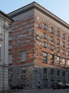 Architecture of Joze Plecnik Victorian Architecture, Historical Architecture, Art And Architecture, Vienna Secession, Prague Castle, Concrete Building, Gaudi, Types Of Art, Countries Of The World