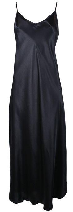 Linda Hartman Classic Hart Long Silk Nightgown