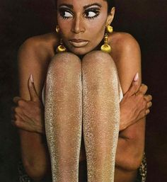 "frackoviak: "" Donyale Luna by Charlotte March Twen Magazine 1966 """