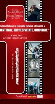 Poster design pentru Salonul National de Fotografie Turistica, editia a XIII-a.