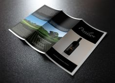 Pavilion Crossing Wine promotional brochure.