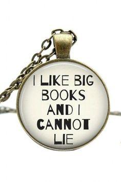 I Like Big Books  I Cannot Lie ♡ SO cUte!