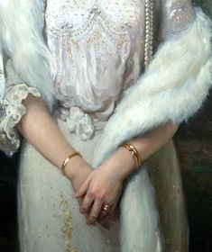 "detournementsmineurs: """"Portrait of Empress Alexandra Feodorovna"" (detail) (1872-1918). """