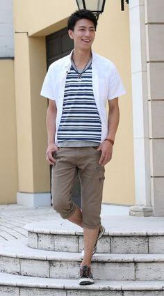 シャツ カットソー クロップドパンツ snp_vt0665 - メンズファッション・メンズ服の通販セレクトショップ【MENZ-STYLE(メンズスタイル)】〈公式〉