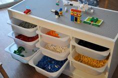 10 idées originales pour utiliser les Trofast d'Ikea | La cabane à idées