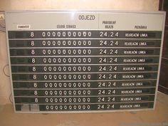 Pragotron SIGNALTRON alphanumeric information system