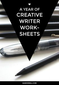 EVA - Writing Resources for Writers - Very nice worksheets