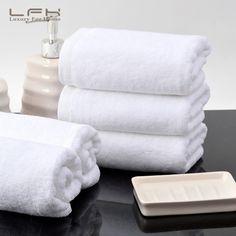 LFH 32X72CM Five Stars Hotel Cotton towel Beauty Salon Face towel 120g Good Quality Cheap Small Towel 5pcs/Lot Washcloth