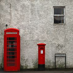 The Red Phone Box & The London Royal Mail