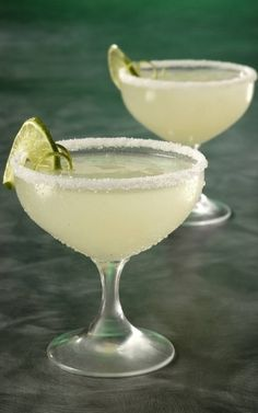 easy margarita recipe: 1 can frozen limeade | 12 oz tequila | 24 oz sprite | 1 corona