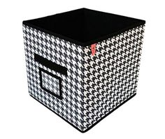 Set of 2 Fabric Collapsible Containers Storage Cubes, Closet Organizers, Foldable Bins (Cube - No Lid (11 x 10.5 x 10.5)) - Brought to you by Avarsha.com