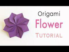 Windmill Blade(Pinwheel Sail) Coaster Mat Origami Paper Tutorial - Origami Kawaii〔#163〕 - YouTube