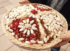 Koliva - renewing traditions by naturally-cyprus, Easter in Cyprus (Orthodox Easter in May that is) Greek Desserts, Greek Recipes, Easter Recipes, Holiday Recipes, Greek Cookies, Cyprus Greece, Orthodox Easter, Greek Easter, Religious Studies
