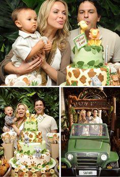 2 Birthday, Jungle Theme Birthday, Safari Theme Party, 1st Birthday Party Themes, Mickey Birthday, Safari Invitations, Birthday Invitations Kids, Lion Guard Birthday Cake, Jungle Party Decorations